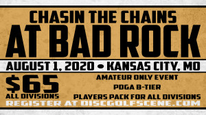 Chasin the Chains at Bad Rock graphic