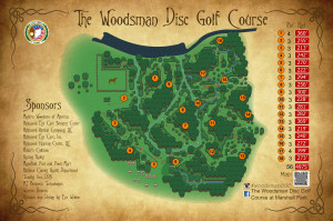 2nd annual Woodsman Link Championship graphic