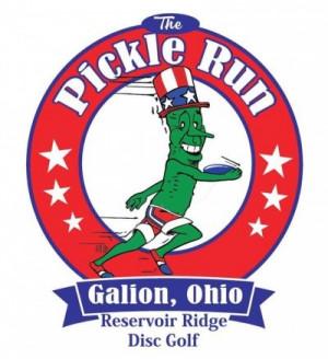 6th Annual Galion Pickle Run DG Tournament graphic