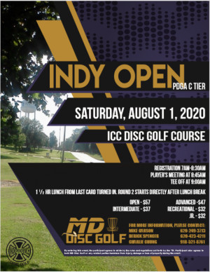 Indy Open 2020 graphic