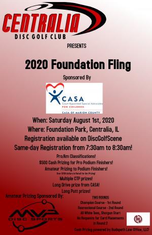 2020 Foundation Fling graphic