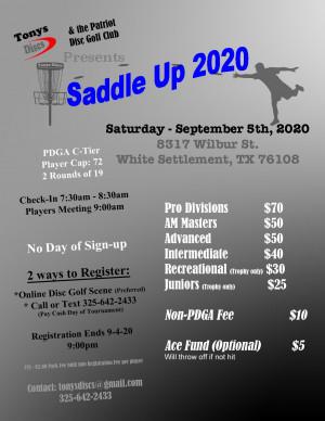 Saddle Up 2020 - White Settlement graphic