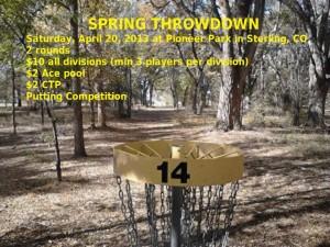 Spring Throwdown graphic