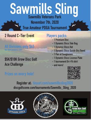 Sawmills Sling GDG $5K/10K Event graphic