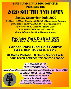 Southland Open graphic