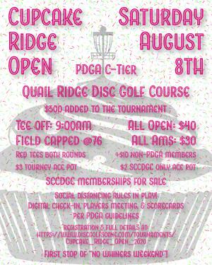 Cupcake Ridge Open graphic