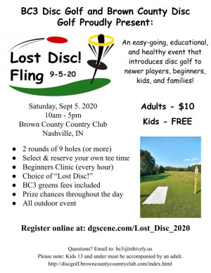 Lost Disc! Fling graphic