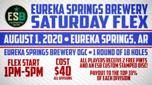 Eureka Springs Brewery Flex Start graphic
