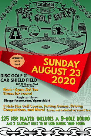 CarShield Field Disc Golf Event graphic