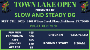 Town Lake Open graphic