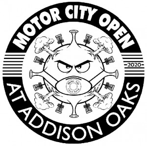 Motor City Open presented by Discraft graphic