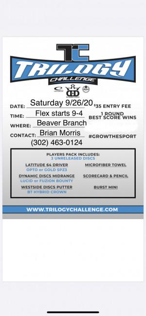 Beaver Branch Trilogy Challenge graphic