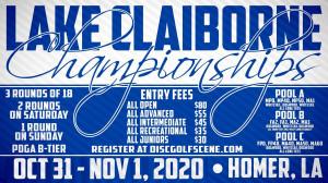 Dynamic Discs Presents: 2020 Lake Claiborne Championships graphic