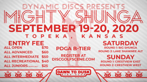 Dynamic Discs Presents: 2020 Mighty Shunga graphic