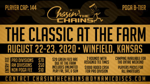 Dynamic Discs Presents The Classic at The Farm graphic