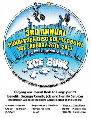 3rd Annual Punderson Ice Bowl graphic