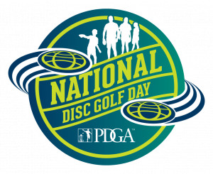 National Disc Golf Day at Bluemont Park graphic