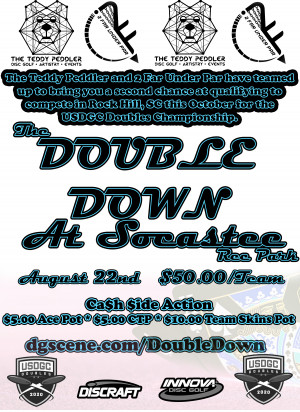 The Double Down @ Socastee Rec Park graphic