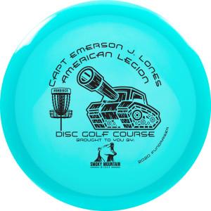 "American Legion Disc Golf Course ""Soft Open"" Fundraiser graphic"