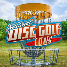 National Disc Golf Day - Mahoney graphic