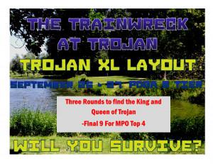 The Trainwreck at Trojan graphic