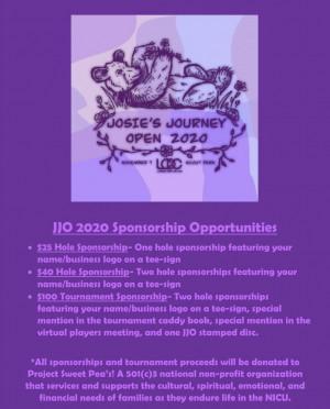 3rd Annual Josie's Journey Open graphic