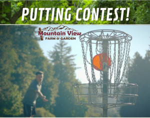 Mountain View Putting Ace Contest graphic