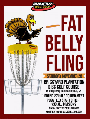 Fat Belly Fling presented by Innova graphic