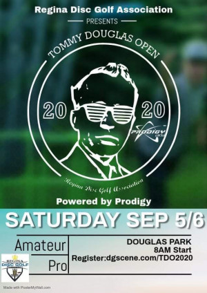 Tommy Douglas Open 2020 Powered by Prodigy graphic