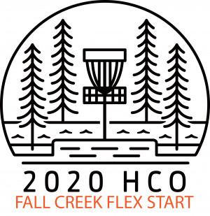 HCO warm up flex start FALL CREEK graphic