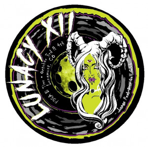 Lunacy XII sponsored by Discmania graphic