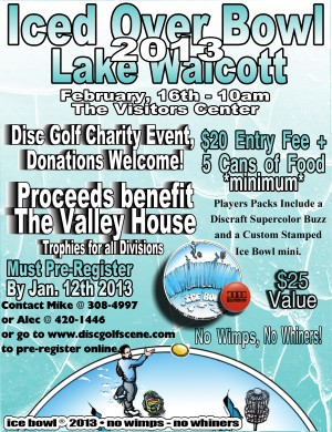 3rd Annual Lake Walcott Iced Over Bowl graphic