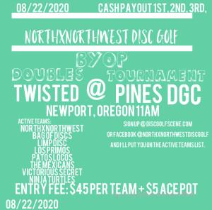 NorthxNorthWest BYOP @ Twisted Pines graphic
