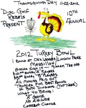 10th annual turkey bowl graphic