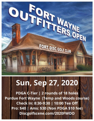 Fort Wayne Outfitters Open (IFS #3) graphic