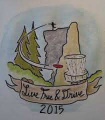 On Point LLC presents: New Hampshire Disc Golf's 2020 Live Free and Drive Tour Finale graphic