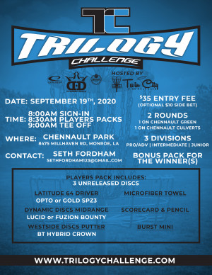 Trilogy Challenge at Chennault Park graphic