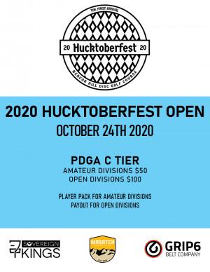 Hucktoberfest 2020 graphic