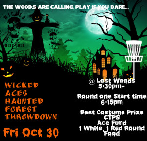 Wicked Aces Haunted Forest Throwdown graphic