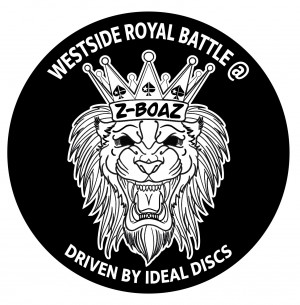 Westside Royal Battle @Z Boaz Driven by Ideal Discs graphic
