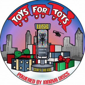 4th Annual Toys for Tots Tourney in Memory of Captain Herb Presented by WSB Radio and Innova Discs graphic