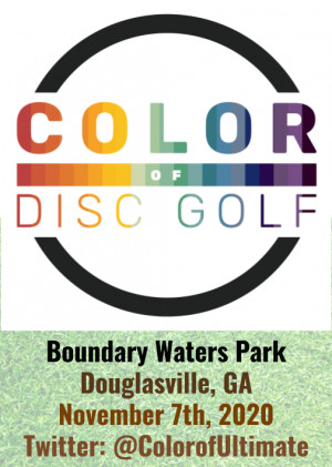 Color Of Disc Golf graphic