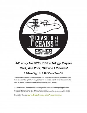Chase N Chains presented by Fisher Disc Golf graphic