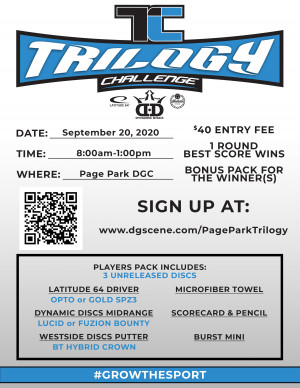 Page Park Trilogy Challenge graphic