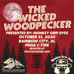 The Wicked Woodpecker Sponsored By Monkey Grip Dyes graphic