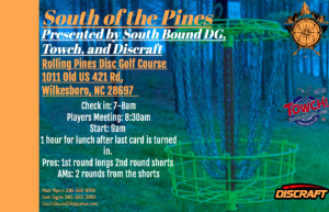South of the Pines graphic