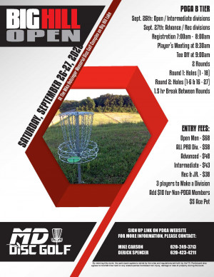 Big Hill Open 2020 - Pro & Int graphic