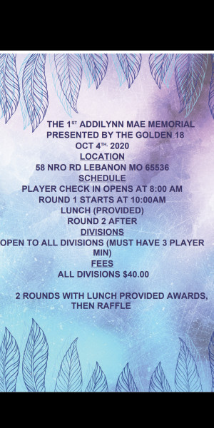 The 1st addilynn mae memorial graphic