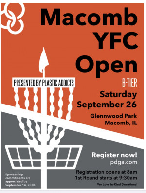 Plastic Addicts Presents YFC Open graphic