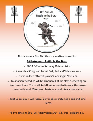 10th Annual - Battle in the Boro graphic
